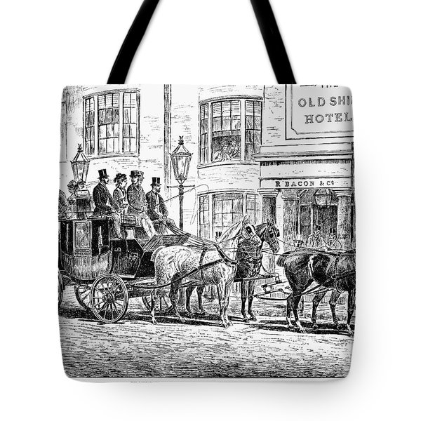 England: Coaching, 1876 Tote Bag by Granger