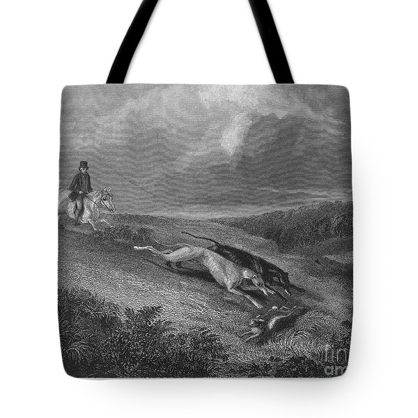 England: Coursing, 1833 Tote Bag by Granger
