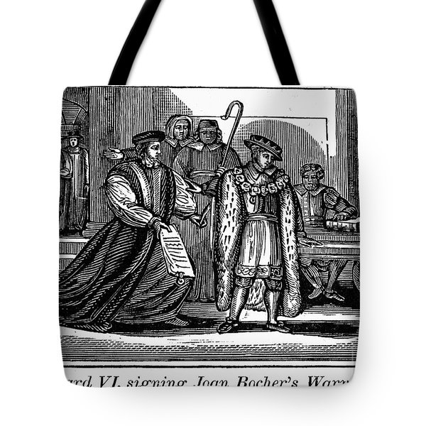 England: Martyr, 1550 Tote Bag by Granger