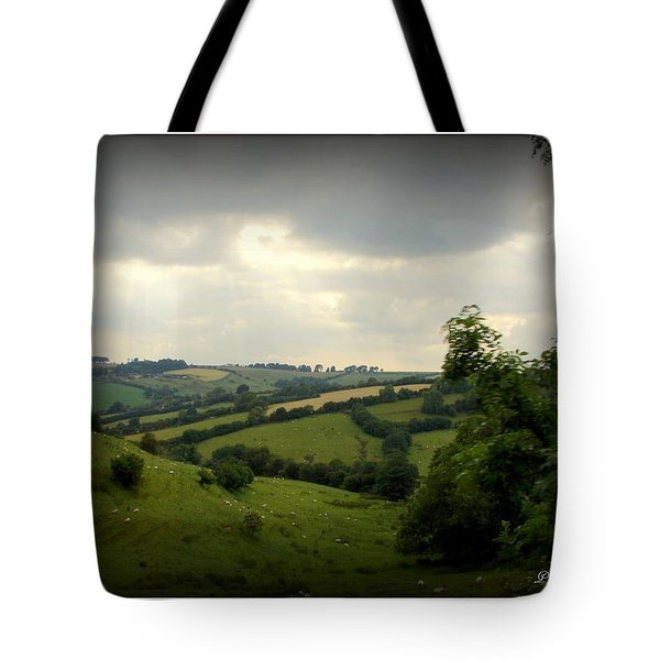 English Countryside Tote Bag by Priscilla Richardson