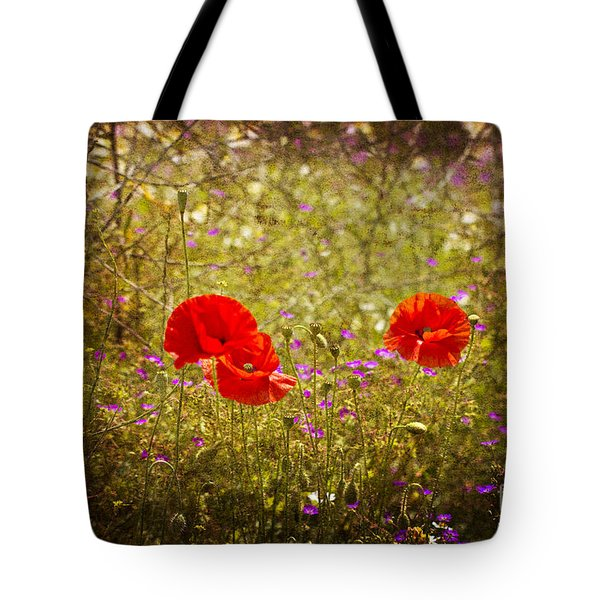 English Summer Meadow. Tote Bag