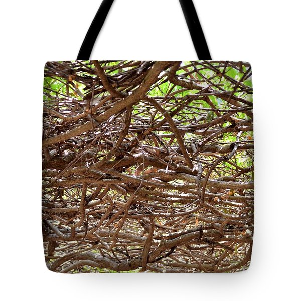 Entangled Tote Bag by Maria Urso