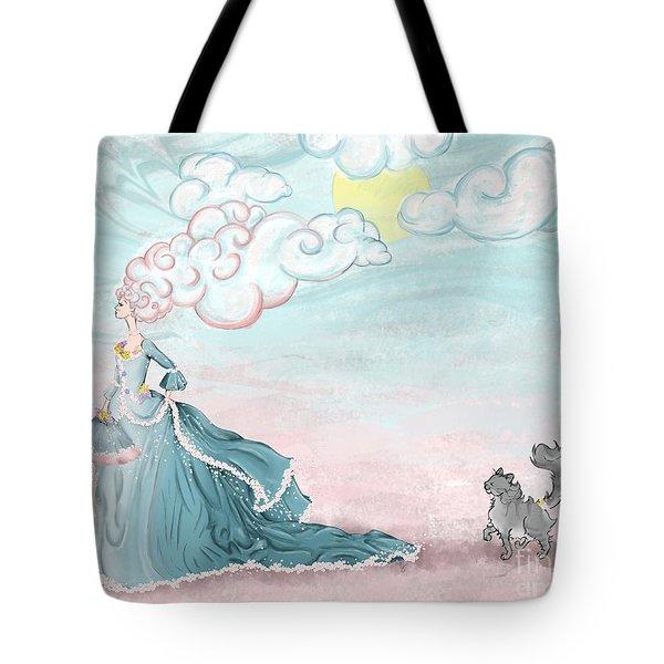 Enter Lady Spring Tote Bag