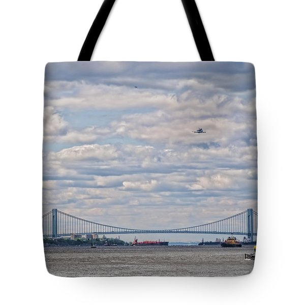 Enterprise 3 Tote Bag by S Paul Sahm