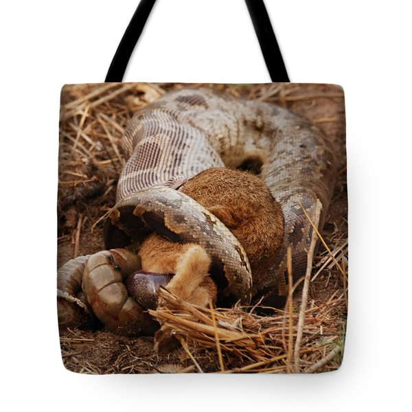 Tote Bag featuring the photograph Entrapped by Fotosas Photography
