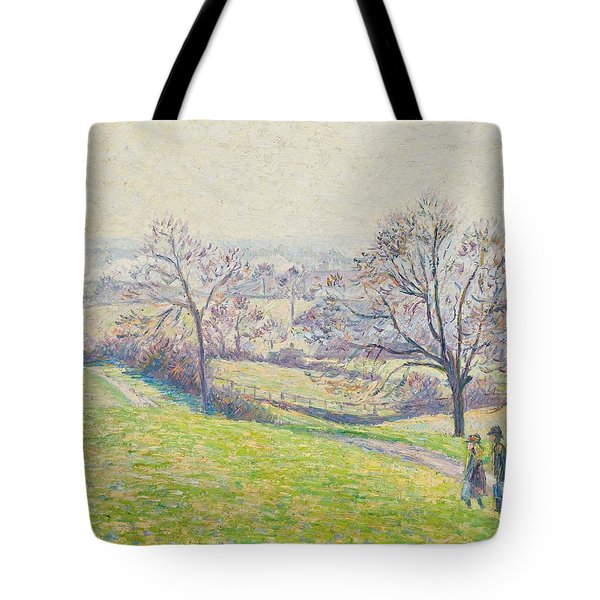 Epping Landscape Tote Bag by Camille Pissarro