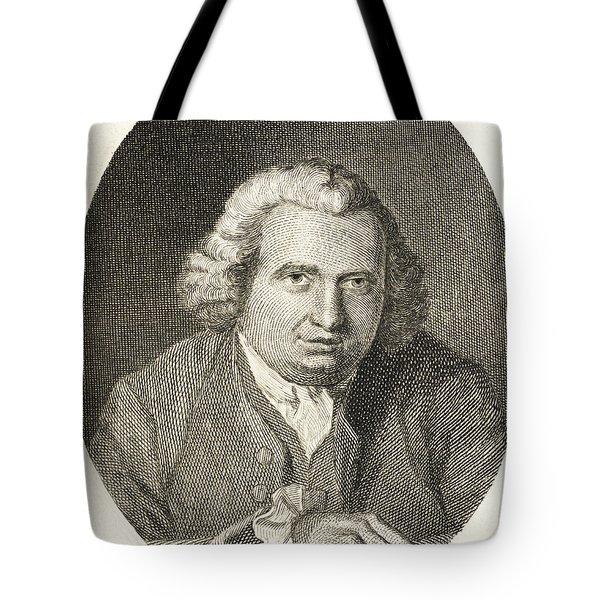 Erasmus Darwin, English Polymath Tote Bag by Science Source