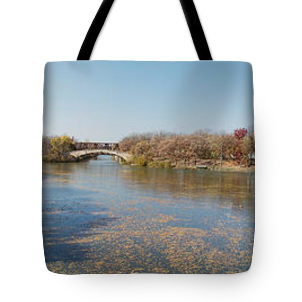 Tote Bag featuring the photograph Erie Canal Panorama by William Norton
