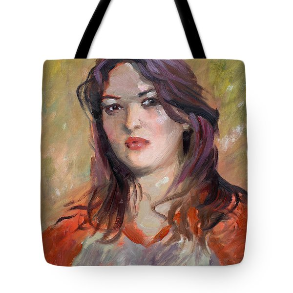 Eriola Tote Bag by Ylli Haruni