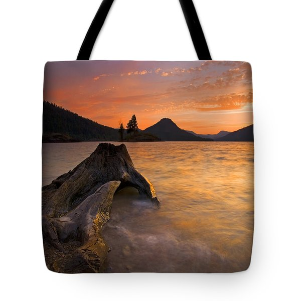 Eroded Away Tote Bag by Mike  Dawson