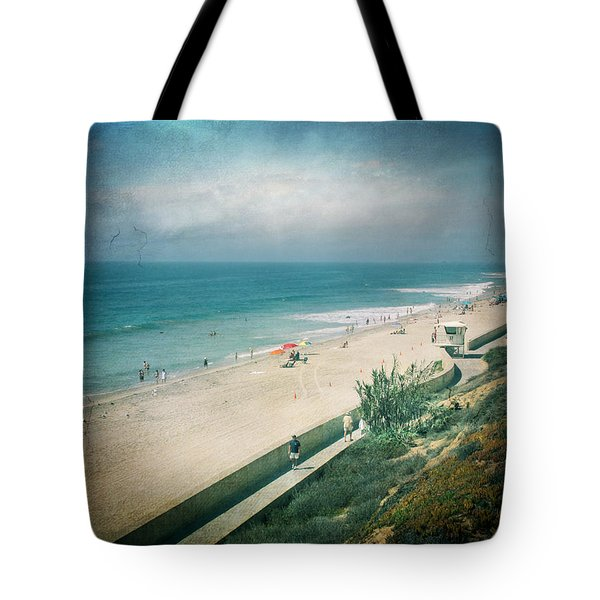 Escape For A Day Tote Bag by Laurie Search