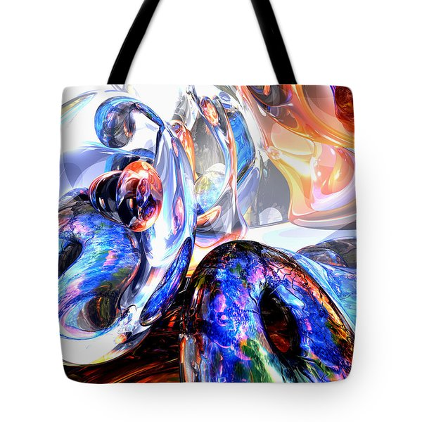 Essence Of Inspiration Abstract Tote Bag