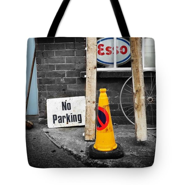 Esso Tote Bag by Charles Stuart