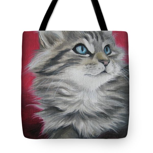 Tote Bag featuring the painting Estrella by Jindra Noewi
