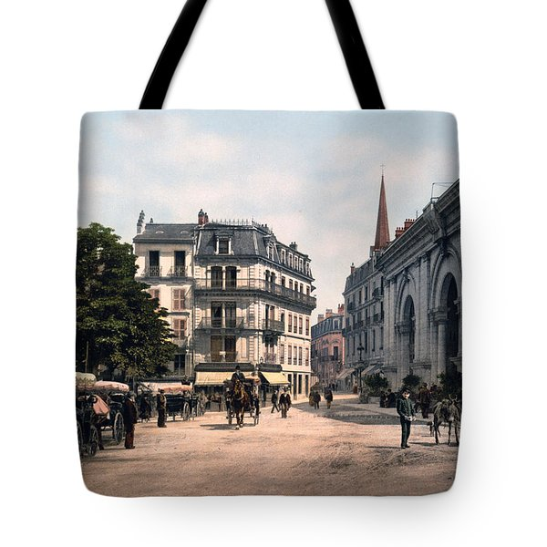 Etablissement Thermal - Aix France Tote Bag by International  Images