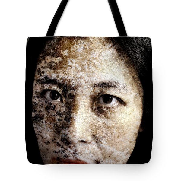 Etched In Stone Tote Bag by Christopher Gaston