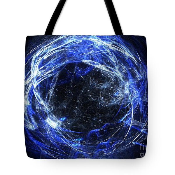 Tote Bag featuring the digital art Eternal by Kim Sy Ok