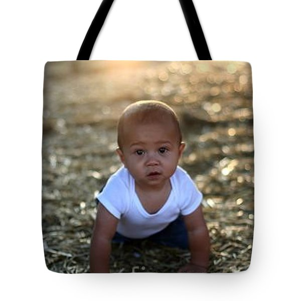 Ethan Sunset Tote Bag by Mark Robbins