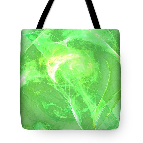 Tote Bag featuring the digital art Ethereal by Kim Sy Ok