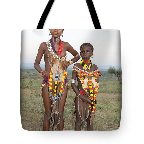 Ethiopia-south Sisters Tote Bag by Robert SORENSEN