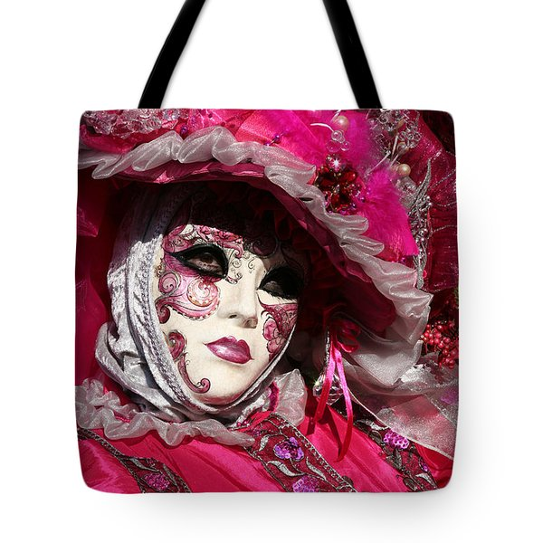 Eve In Pink Tote Bag
