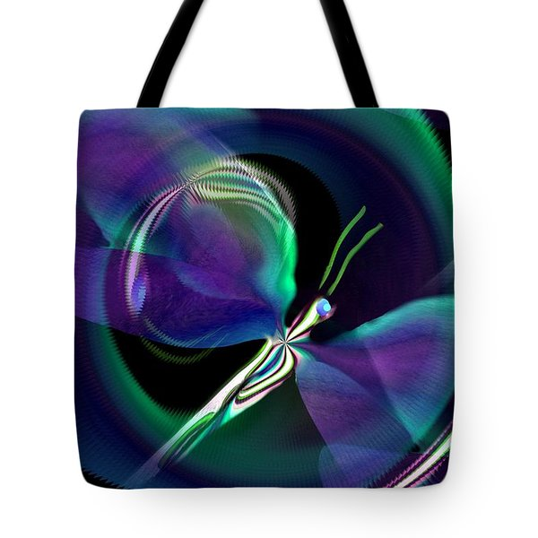Eve Of The Dragonfly Tote Bag by Maria Urso