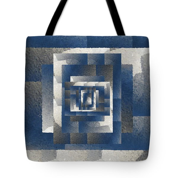 Even On A Cloudy Day Tote Bag by Tim Allen
