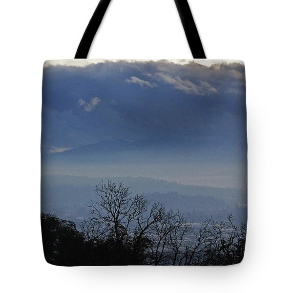 Evening At Grants Pass Tote Bag by Mick Anderson
