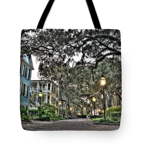 Evening Campus Stroll Tote Bag