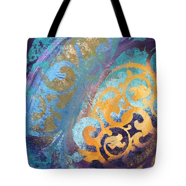 Evening Light Tote Bag by Reina Cottier
