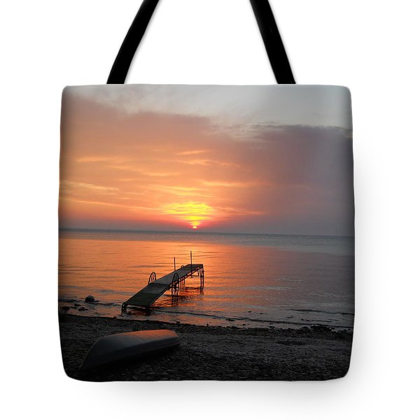 Evening Rest Tote Bag