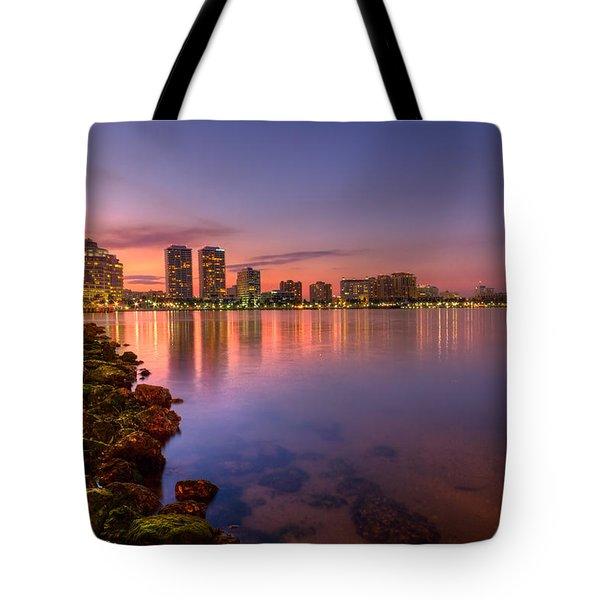 Evening Warmth Tote Bag