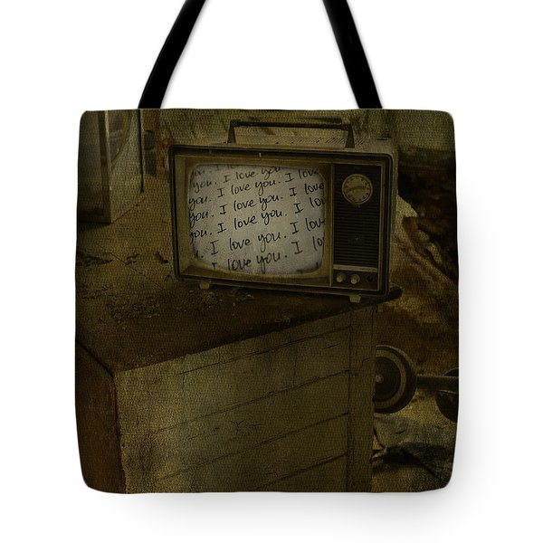 Every Channel Of Love Tote Bag by Jerry Cordeiro