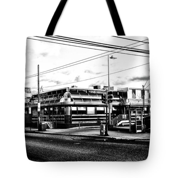 Everybody Goes To Melrose - The Melrose Diner - Philadelphia Tote Bag by Bill Cannon
