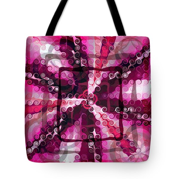 Evolve 4 Tote Bag by Angelina Vick
