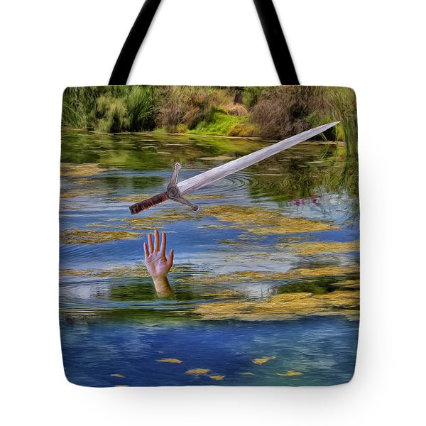 Excalibur Tote Bag by Dominic Piperata