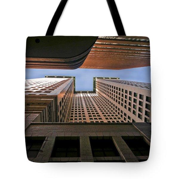 Exchange Canyon Tote Bag