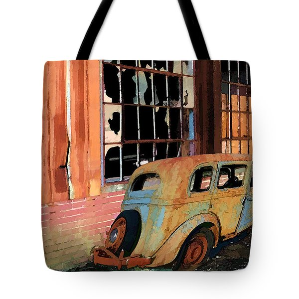 Executive Parking Tote Bag by Larry Bishop