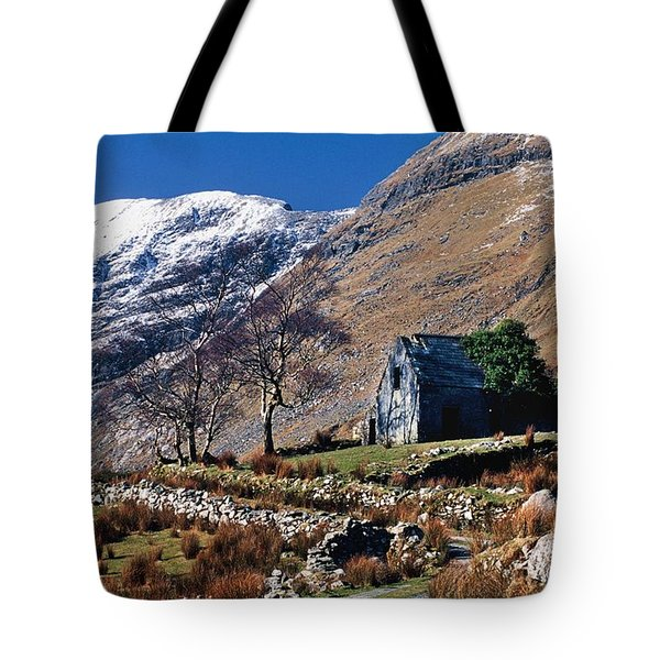 Exterior Of Rustic Home Tote Bag by Gareth McCormack