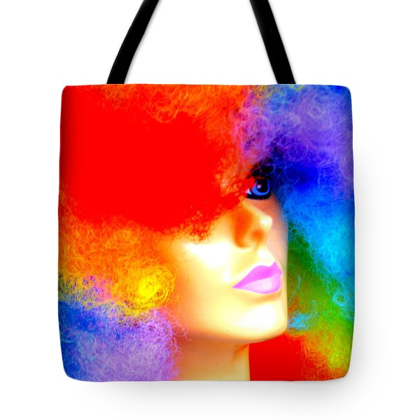 Eye Of The Rainbow Tote Bag
