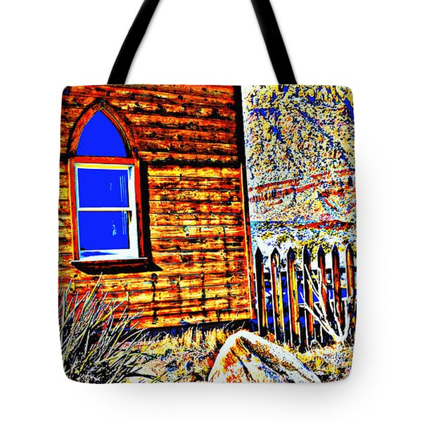Eye Of The Soul Tote Bag by Diane montana Jansson
