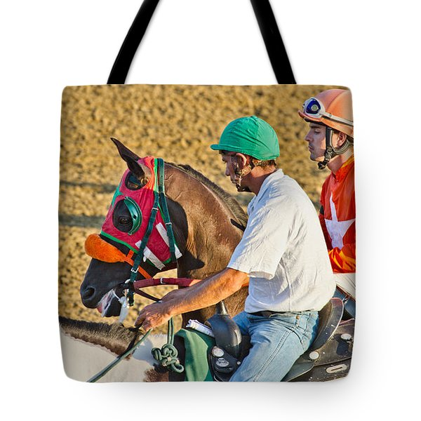 Eye On The Athlete  Tote Bag by Betsy Knapp