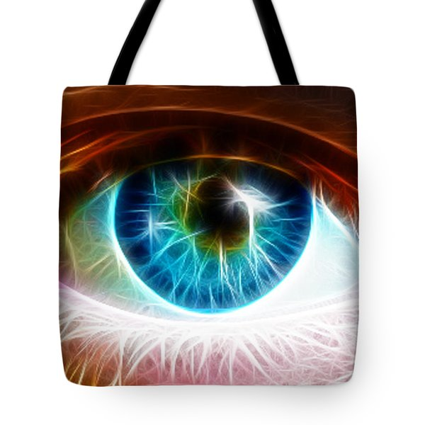 Eye Tote Bag by Paul Van Scott