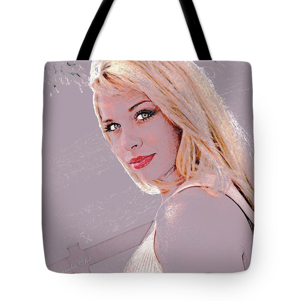 Eyes Of Beauty Tote Bag