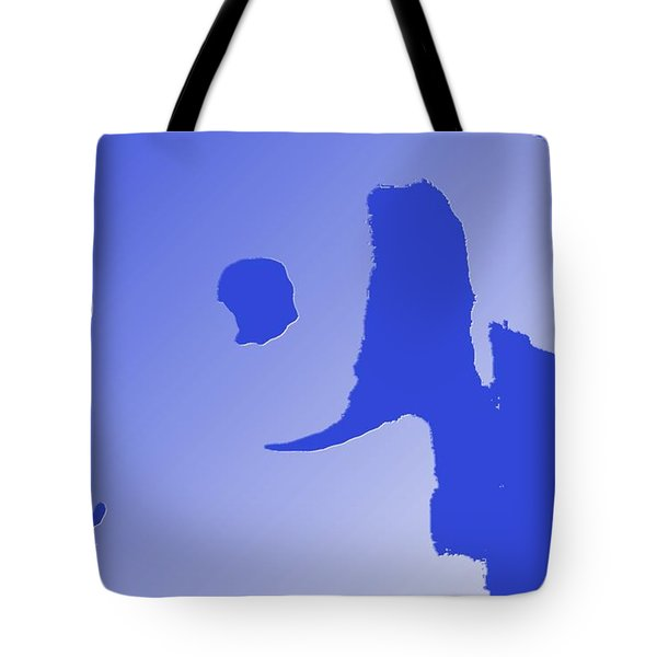 Eyes On Him Tote Bag