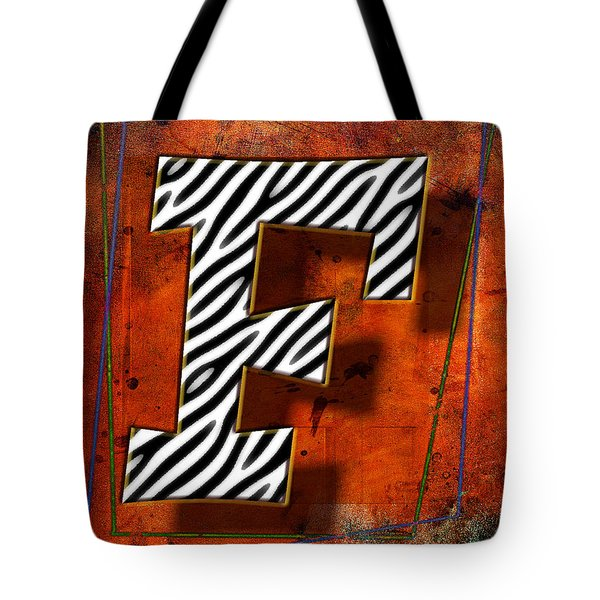 F Tote Bag