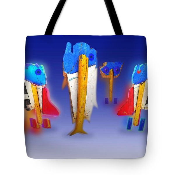 Fab Four Tote Bag by Charles Stuart