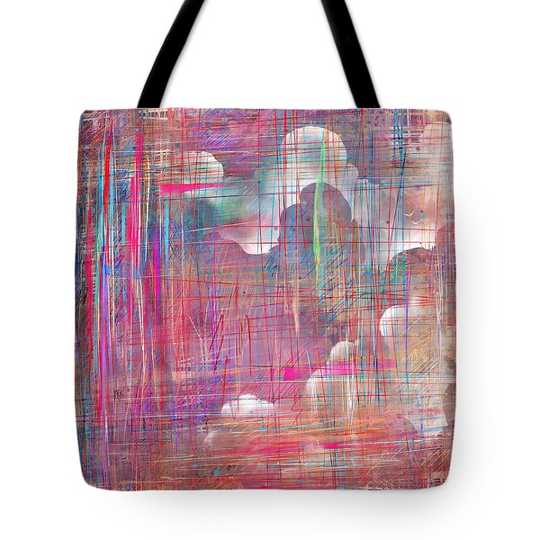 Fabric Of A Dream Tote Bag by Rachel Christine Nowicki