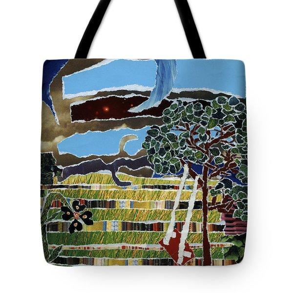 Fabric Of Life Tote Bag