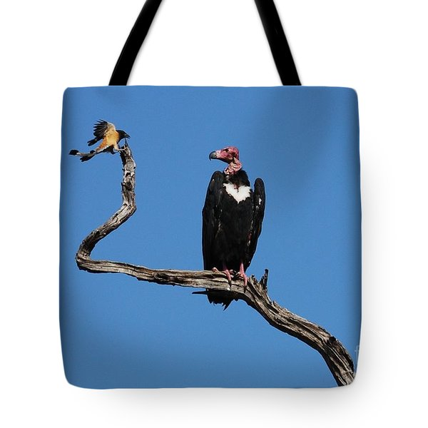 Tote Bag featuring the photograph Face To Face by Fotosas Photography